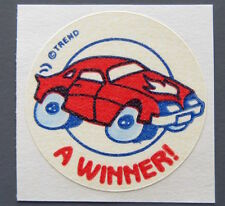 Vintage TREND Stinky Stickers NEW CAR matte Scratch-N-Sniff sticker - version 2