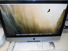 "Apple iMac 27"" 8GB RAM 1TB HDD Core i7-860 Quad-Core 2.8GHz Sierra Office 2011"