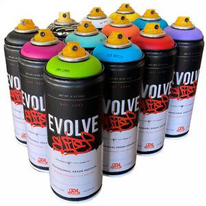 Evolve Elite Montana Krylon Rustoleum Belton MTN Krink Spray Paint 12 CANS