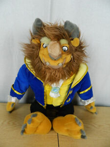"Walt Disney Parks Plush Doll 18"" Beast - Beauty and the Beast"