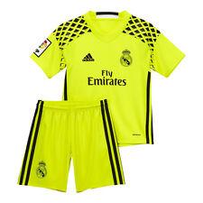 Maglie da calcio di squadre internazionali gialle per bambini