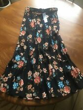 Topshop Floral Skirt 12/40 NWT