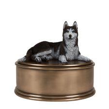 Perfect Memorials Husky Figurine Cremation Urn