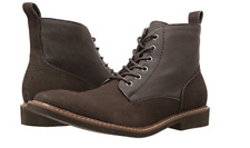 NEW GUESS JIONNI BROWN CHUKKA ANKLE BOOTS MENS 9 BROWN LEATHER LACE UP
