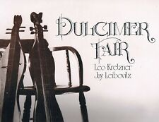 Leo Kretzner & Jay Leibovitz -DULCIMER FAIR- 1977 Michigan Archives Lp