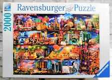 Ravensburger Jigsaw Puzzle 2000 Piece World of Books Made in Germany #16 685 5
