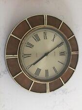 Metamec Vintage Battery Kitchen Retro Wall Clock Not Working