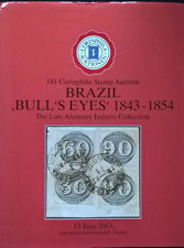 Auction catalogue BRAZIL BULLS EYES 1843-54 Luis Alemany Indarte Stamps Covers
