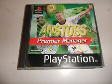 PlayStation 1  PSX  PS1  Anstoss Premier Manager