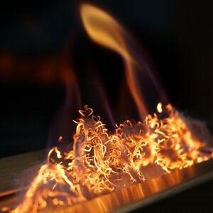 GLOW FLAME - Bio Ethanol Fireplace Glow Effect Fiber - Glowing Decoration - NEW!
