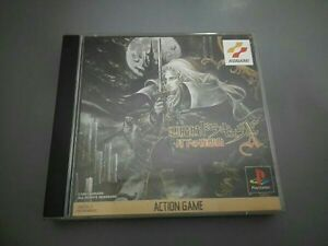 PlayStation PS Akumajo Dracula X Symphony of the Night CASTLEVANIA Used Game F/S