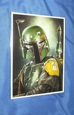 STAR WARS CELEBRATION 2017 Chris Trevas Art Print SIGNED ~Boba Fett