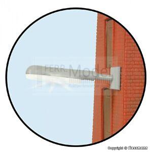 VIESSMANN 6089 - Plafoniera da parete con led bianco. Scala H0 1:87