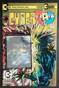 CYBERRAD #1 1992 CONTINUITY HOLOGRAM NEAL ADAMS  PETER STONE