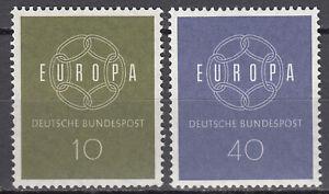 BRD 1959 Mi. Nr. 320-321 Postfrisch LUXUS!!!