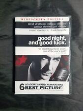 Good Night, And Good Luck (DVD, 2005)