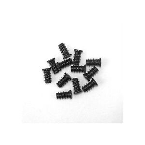 25 Black Computer PC Case Chassis Cooling Fan Grill / Guard Mounting Screws