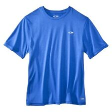 LARGE BLUE Original Champion® Men's Athletic Dri fit T-shirt S9331