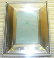 Martha Stewart Collection Silver Plated Beveled 5 x 7 Photo Frame New in Box