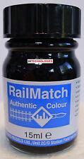 RailMatch 205 Black (Underframes,Waterman & Fragonset Locos) Enamel New 15ml Jar