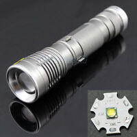 Mini New CREE XML-T6 1600 Lumens LED Lamp Flashlight Zoomable Focus Torch Light