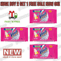 New - Vanish Super Soap 75g Bar Multi Fabric Stain Remover With Enzymatic Action