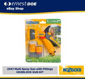 Hozelock 2347 Multi Spray Gun with Fittings