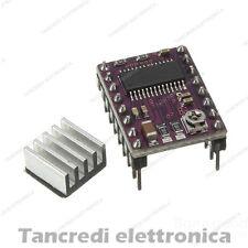 Driver DRV8825 con dissipatore stepper motor motore passo passo CNC 3D printer