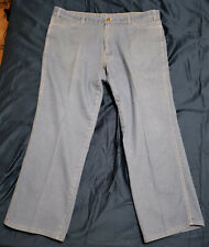 "Men'S Vintage Towncraft Jc Penney Blue Jeans Sz 40W x 28L"" Altered Usa Made"