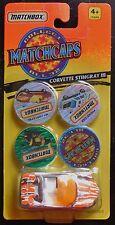 MATCHBOX Matchcaps Corvette Stingray Mosc New
