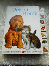 My First Discoveries Pets at Home Children's First Dictionary Learning Book Dogs
