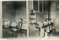 BRIIS SOUS FORGES Sanatorium de Bligny Une chambre et un lavabo