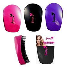 Spazzole e pettini neri plastici per capelli donna