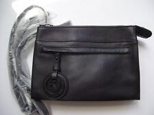 Mimco supernatural black matte due hip bag