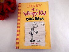 Diary of a Wimpy Kid Dog Days Jeff Kinney Tween Reader Illustrated Book 2009
