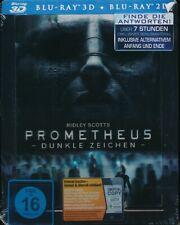 Prometheus - Dunkle Zeichen - Steelbook (Blu-ray 3D + Blu-ray 2D) Neu