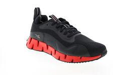 Reebok Зиг Dynamica FY7054 мужские черные синтетические спортивные кроссовки