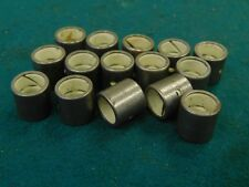"1/2"" OD x 3/8"" ID Lined Lubricating Bearing Bushing Carbon Sleeve 15 Pieces"