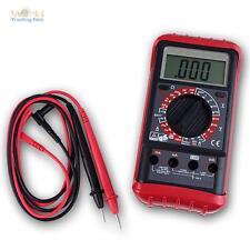 """Multímetro Digital """" check-202"""" Polaridad Pantalla LCD, Probador de Continuidad"""