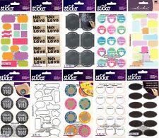 U Choose Sticko Stickers Labels Comic Book Captions Handmade Tags Frames