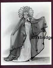 Burlesque Dancer Showgirl Outfit 8x10 Costume Dress 1970 Original Photo C315