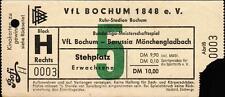 Ticket BL 84/85 VfL Bochum - Borussia Mönchengladbach, 05.03.1985