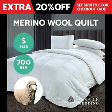 Unbranded Patternless 100% Cotton Quilts & Bedspreads