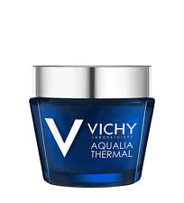 Vichy 75ml Aqualia Thermal Night Spa Replenishing Anti Fatigue Cream GEL for