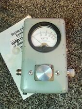 Bird 43 4310 Thruline Wattmeter Watt Element Slug Reading Meter / NICE