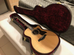 Taylor 814ce dlx guitar and case