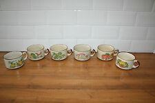 Set of 6  Shell Petrol Promo vintage Soup Bowl/ mugs