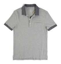 J.Crew - Men's S Slim Fit - NWT - Tipped Heather Gray Stretch Piqué Pocket Polo