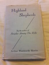 Vintage Christian Methodist: Highland Shepherds by Arthur Wentworth Hewitt 1939
