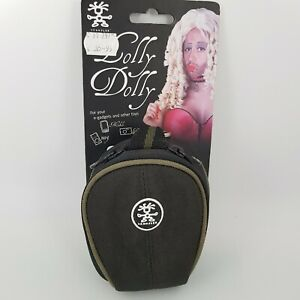 Crumpler Lolly Dolly 65 Camera Case Media Pouch - Black / Dark Green Trim